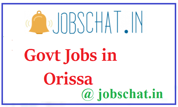 Govt Jobs in Orissa