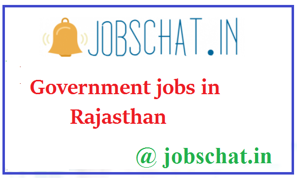 Government jobs in Rajasthan