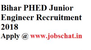 Bihar PHED Junior Engineer Recruitment