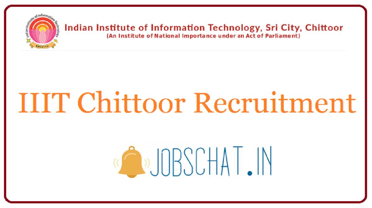 IIIT Chittoor Recruitment