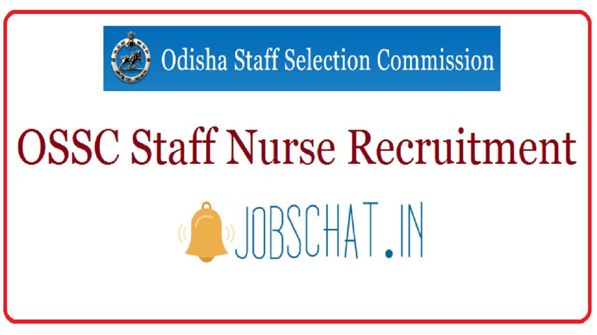OSSC Staff Nurse Recruitment