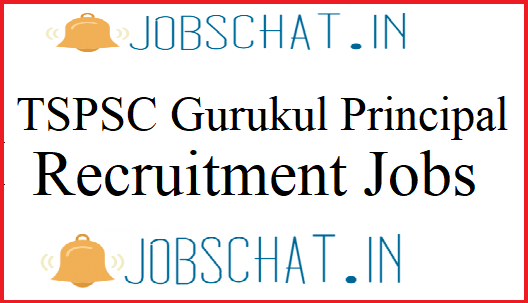TSPSC Gurukul Principal Recruitment