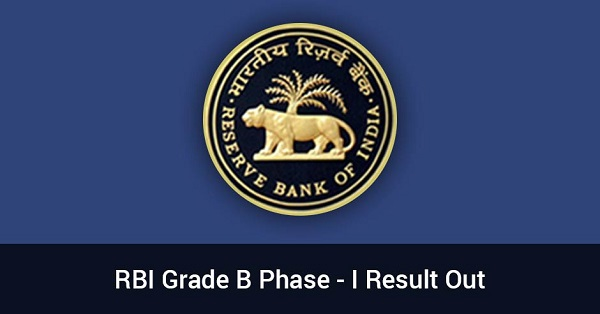 RBI Grade B Prelims Result