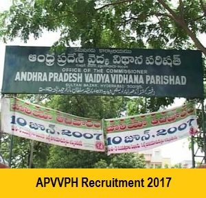 APVVPH Recruitment Notification
