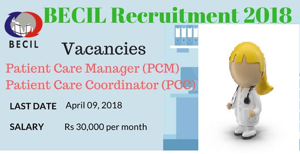 BECIL Recruitment Notification