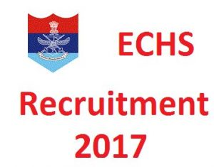 Telangana ECHS Recruitment Notification 2017