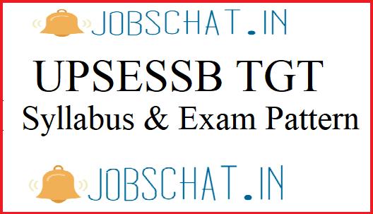 UPSESSB TGT Syllabus