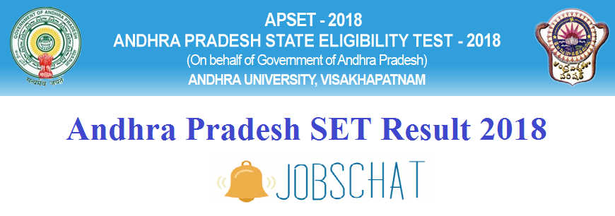 Andhra Pradesh SET Results