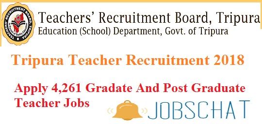 Tripura Teacher Recruitment