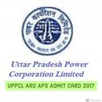 UPPCL ARO APS Admit Card 2017| Download Uttar Pradesh Power Corporation Limited Samiksha Adhikari Exam Hall Ticket – Exam Dates