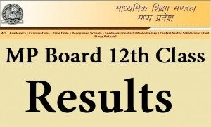 MP Board 12th Class Supplementary Results 2017