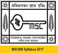 MSCWB Syllabus