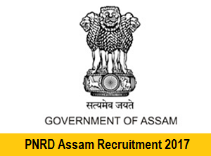 PNRD Assam Recruitment Notification