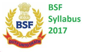 BSF Constable Tradesman Syllabus