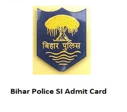 BPSSC SI Admit Card