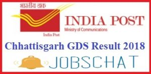 GDS Chattisgarh Results