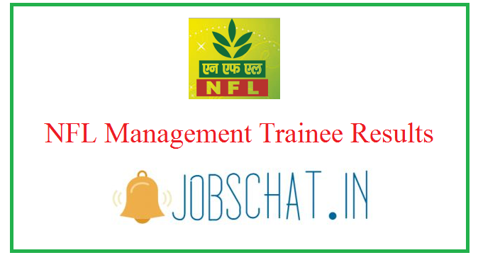 NFL Management Trainee Results