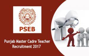 PSEB Recruitment Notification