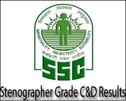 SSC Stenographer Results 2017
