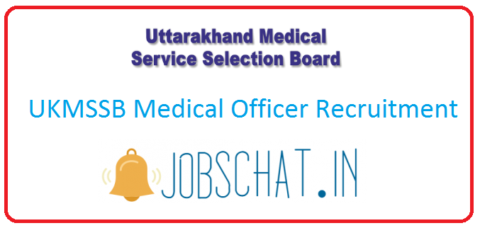 UKMSSB Medical Officer Recruitment