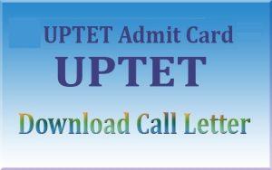 UP Teacher Eligibility Test Admit Card