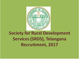 SRDS Telangana Recruitment 2017