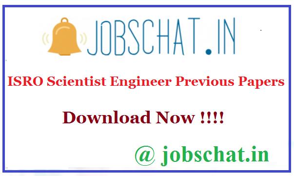 ISRO Scientist Engineer Previous Papers