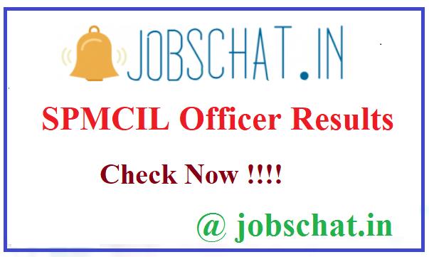 SPMCIL Officer Results