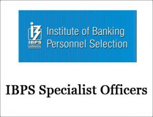 IBPS Specialist Officers Recruitment