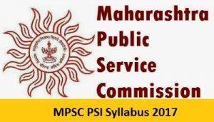 Maharashtra PSC SI Syllabus