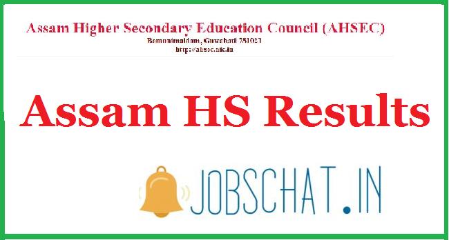 Assam HS Results