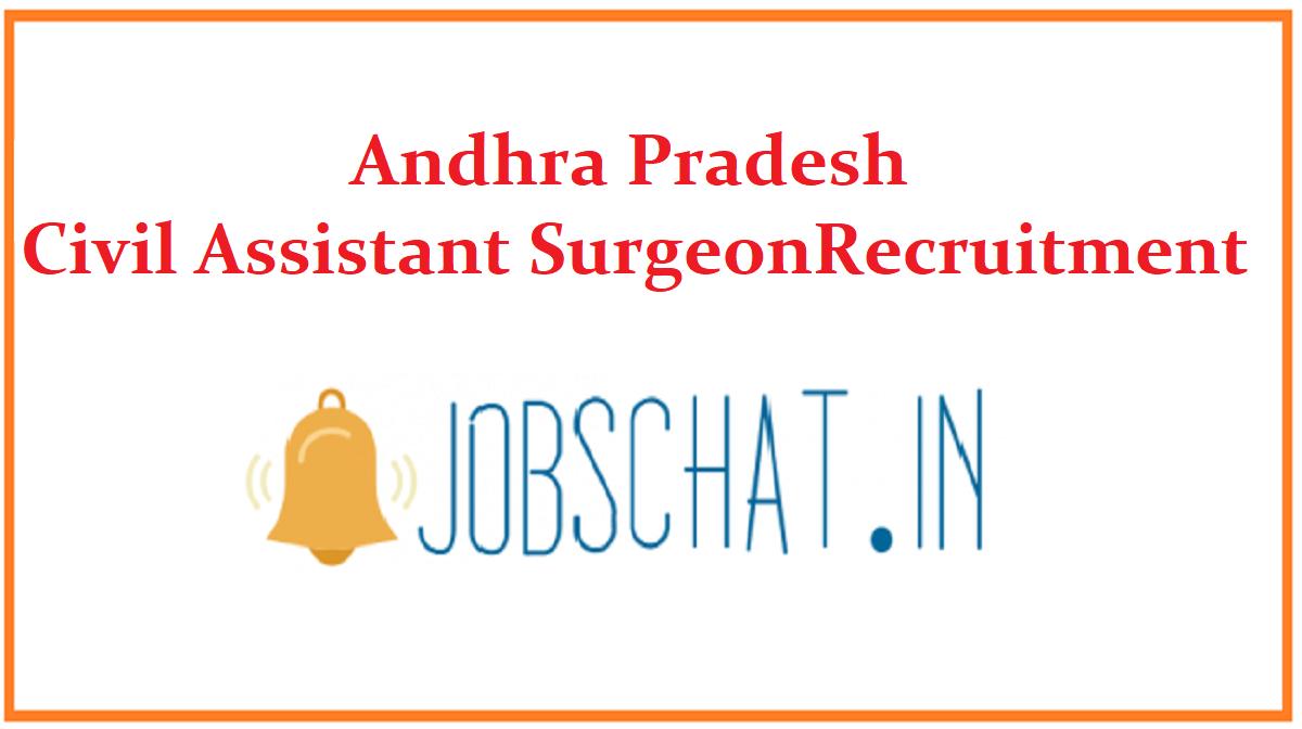 Andhra Pradesh Civil Assistant Surgeon Recruitment