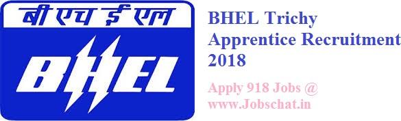 BHEL Trichy Trade Apprentice Recruitment