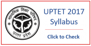 UP Teacher Eligibility Test Syllabus