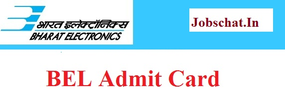 BEL Deputy Engineer Admit Card