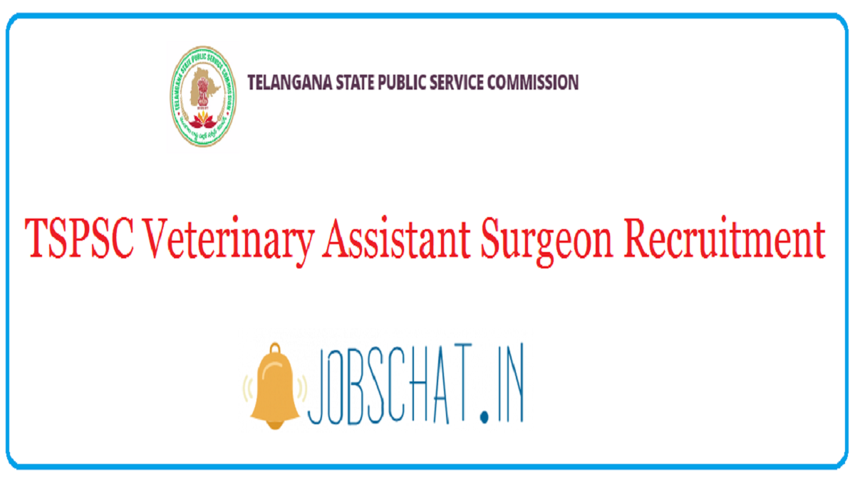 TSPSC Veterinary Assistant Surgeon Recruitment