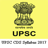 UPSC CDS-1 Exam Syllabus