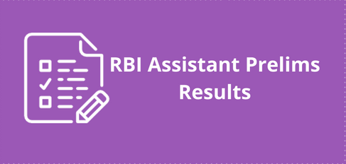 RBI Assistant Prelims Result
