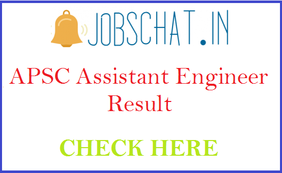 APSC Assistant Engineer Result