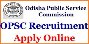 OPSC Medical Officer Recruitment 2018