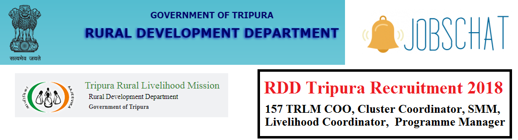 RDD Tripura Recruitment