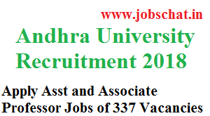 Andhra University Recruitment