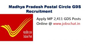 MP Postal Circle GDS Recruitment