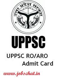 UPPSC Samiksha Adhikari Admit Card