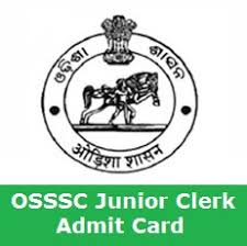 OSSSC junior Clerk Admit Card 2018