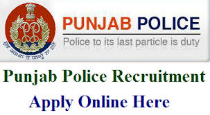 Punjab Police Constable Recruitment 2018