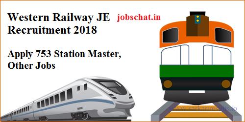 Western Railway JE Recruitment