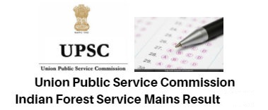 UPSC IFS Mains Result