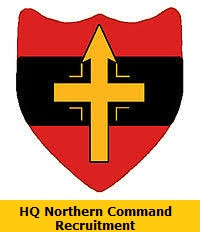 HQ Northern Command Recruitment