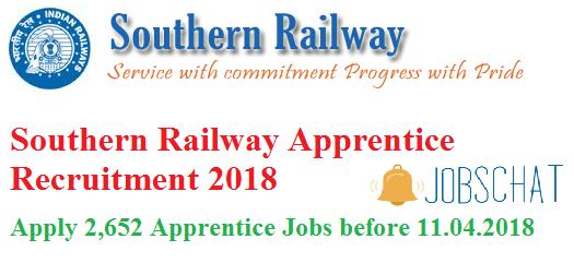 Southern Railway Apprentice Recruitment